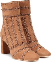 Beatrice Suede Ankle Boots