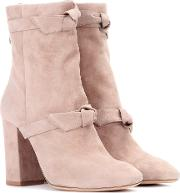 Lorraine Suede Ankle Boots