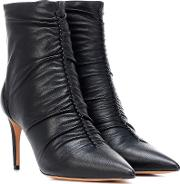 Susanna 85 Leather Ankle Boots