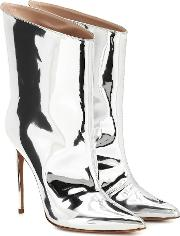 Alex Low Metallic Ankle Boots