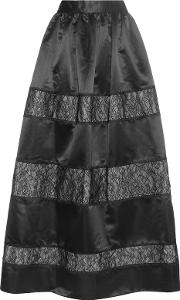 Prima Lace And Satin Skirt