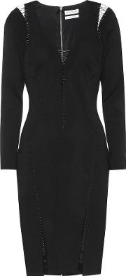 Anniversary Collection Toni Embellished Wool Dress