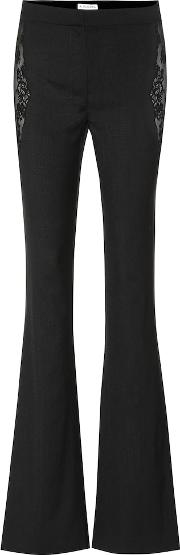 Anniversary Collection Vespa Stretch Wool Flared Pants