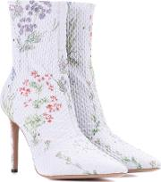 Exclusive To Mytheresa.com Elliot Floral Printed Ankle Boots