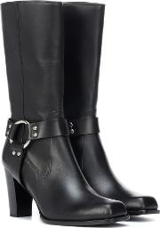 Lucy Harness Leather Boots