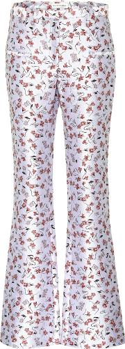 Serge Flare Trousers