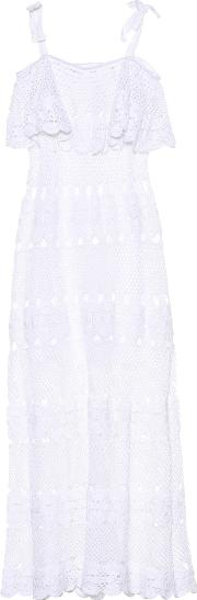 Marianne Crocheted Cotton Dress