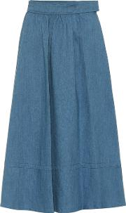 Delave Chambray Skirt