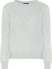 Lauren Wool And Cotton Sweater