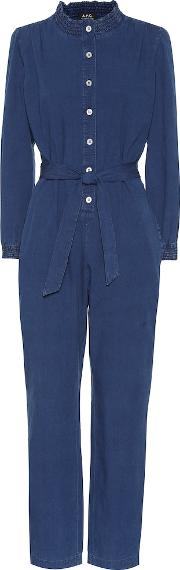 Ronnie Chambray Jumpsuit