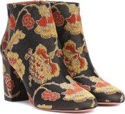 Brooklyn 85 Jacquard Ankle Boots