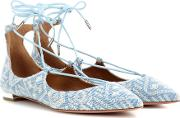 Christy Emroidered Flat Ballerinas