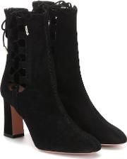 Medina 85 Suede Ankle Boots