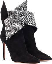 Night Fever 105 Suede Ankle Boots