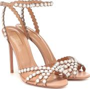 Pearl 105 Leather Sandals