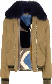 Fur Lined Cotton Jacket
