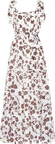 With Carly Floral Silk Dress