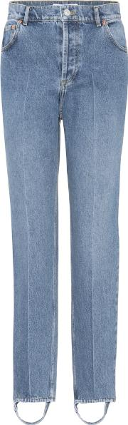 Exclusive To Mytheresa.com High Rise Stirrup Jeans