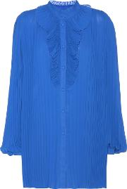 Plisse Pleated Shirt