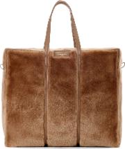 Shopper Bazar Xl Shearling Tote