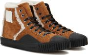 Young Suede High Top Sneakers