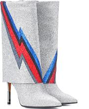 Demi Glittered Ankle Boots
