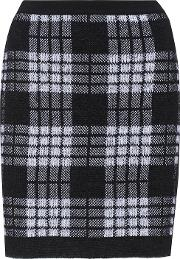 Mohair And Wool Blend Skirt