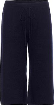 Cashmere Cropped Trousers