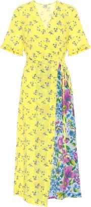 Exclusive To Mytheresa Abygail Silk Blend Crepe Dress