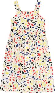 Laly Printed Cotton Dress
