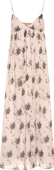 Ornella Floral Cotton Midi Dress
