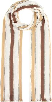 Cotton And Linen Blend Scarf
