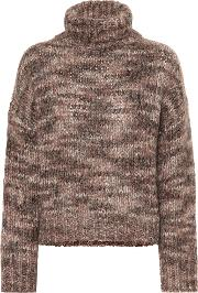 Mohair And Cashmere Blend Sweater