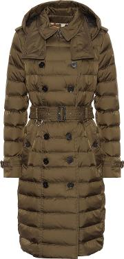 Double Breasted Down Puffer Coat