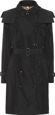 Hooded Trench Coat