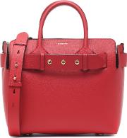 The Belt Small Leather Tote