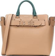 The Medium Belt Leather Tote