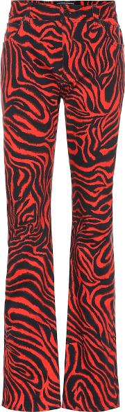 Tiger High Rise Straight Jeans