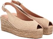 Dosalia Canvas Wedge Espadrilles