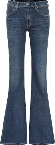 Chloe High Rise Flared Jeans