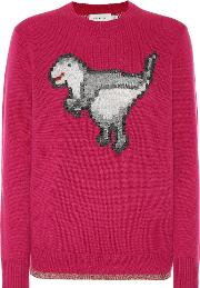 Pixel Rexy Wool And Cashmere Sweater