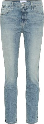 The Caballo High Rise Skinny Jeans