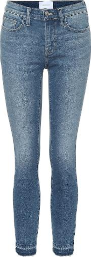 The Stiletto Mid Rise Skinny Jeans