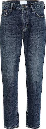 The Vintage Cropped Mid Rise Jeans