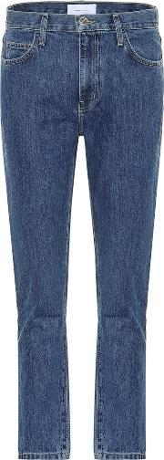 The Vintage Cropped Slim High Rise Jeans