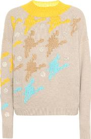 Cashmere And Wool Blend Sweater