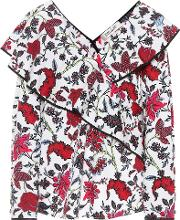 Floral Printed Cotton Top