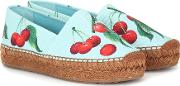 Exclusive To Mytheresa Cherry Printed Espadrilles