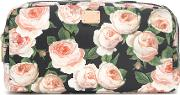 Floral Printed Cosmetics Case