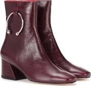Nizip Leather Ankle Boots